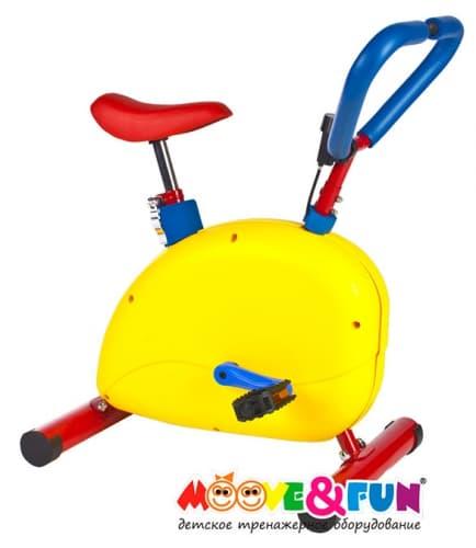 Тренажер детский механический Велотренажер с компьютером Moove&Fun SH-02C - , артикул:3788