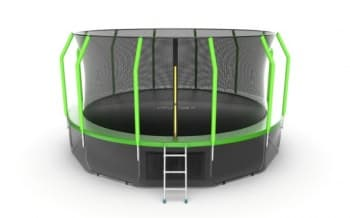 Батут Evo Jump Cosmo 16ft (Green) + Lower net - , артикул:10786