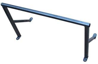 Турник настенный прямой W01 /WORKOUT/ цвет черный размер 80 см - Турники настенные, артикул:7709