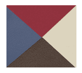 Складной массажный стол Vision Juventas Deluxe бордовый - Массажные столы, артикул:7353