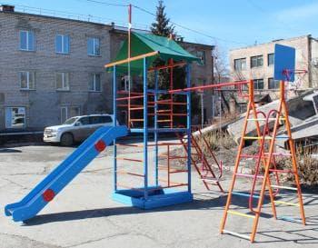 ДСК Замок  А цвет коричневый - Уличное оборудование, артикул:7139