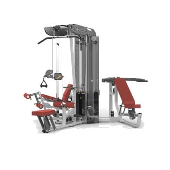 3-х стековая мультистанция с тяговой колонной AeroFit Professional Impulse Techno ES3000+ES3000OPT - Со встроенными весами, артикул:10164