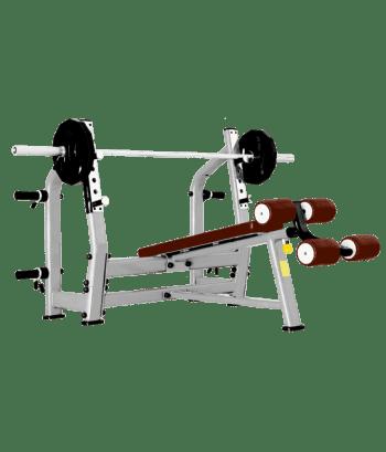 Скамья для жима Bronze Gym J-024 - Для жима штанги, артикул:6816
