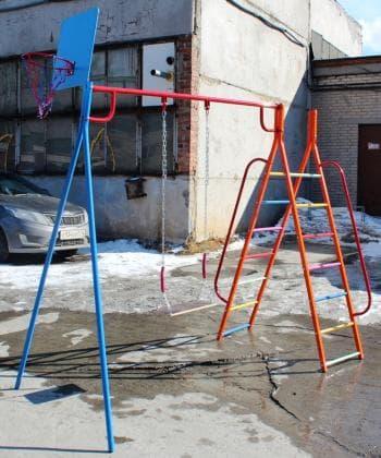 ДСК Дача  А цвет синий - Уличное оборудование, артикул:7180