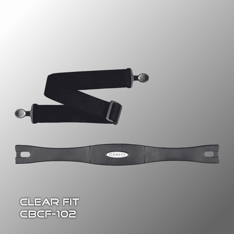 Нагрудный датчик пульса Clear Fit CBCF-102 - Аксесуары для тренажёров, артикул:3041