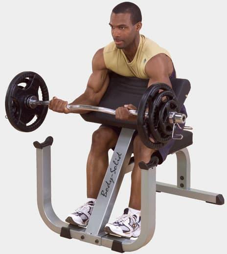 Скамья Скотта Body Solid GPCB-329 - Для мышц рук, артикул:4430
