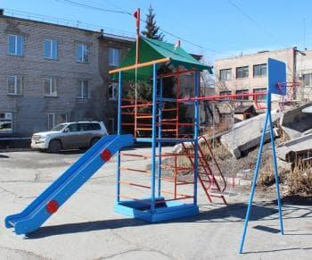 ДСК Замок цвет солнышко - Уличное оборудование, артикул:7132