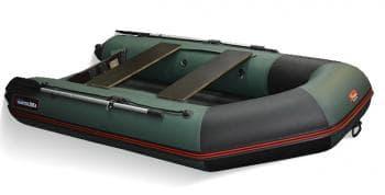 Надувная лодка Хантер 290 ЛКА зеленый - Хантер, артикул:9464