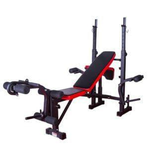 Силовая скамья Evo Fitness Home Line SB18 - Для жима штанги, артикул:10224