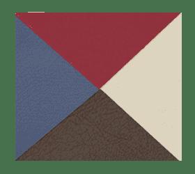 Складной массажный стол Vision Juventas II бордовый - Массажные столы, артикул:7341
