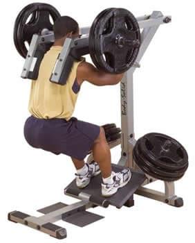 Голень стоя Body-Solid GSCL-360 - Для мышц ног, артикул:2602