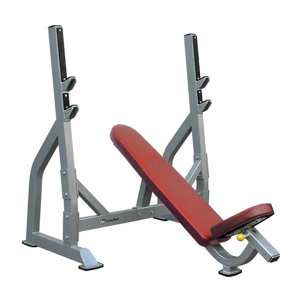 Олимпийская скамья для жима лежа Aerofit IFOIB - Для жима штанги, артикул:5360