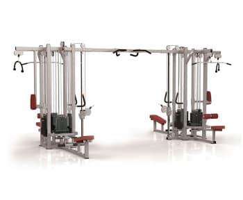 8-ти стековый тренажерный комплекс AeroFit Professional Impulse Functional IF8127+IF8127OPT+ IF8127 - Со встроенными весами, артикул:10353