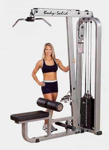 Вертикально-горизонтальная тяга Body Solid ProClub SLM-300G - Со встроенными весами, артикул:9490