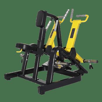 Горизонтальная тяга под наклоном Bronze Gym XA-06 - Со встроенными весами, артикул:8431