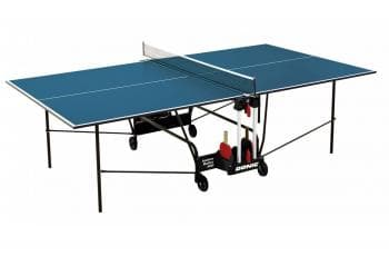 Теннисный стол Donic Indoor Roller 400 синий - Теннисные столы для помещений, артикул:6261