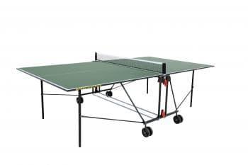 Теннисный стол Sunflex Optimal Indoor зеленый - Теннисные столы для помещений, артикул:6123
