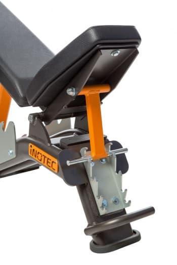 Скамья с регулируемым углом наклона AeroFit Professional Inotec Athletic Line А31 - Универсальные скамьи, артикул:10456