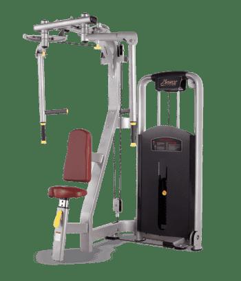 Грудь/Задняя дельта BRONZE GYM MV-002A - Со встроенными весами, артикул:6832