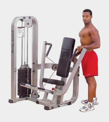 Жим от груди Body Solid ProClub SBP-100 - Со встроенными весами, артикул:9500