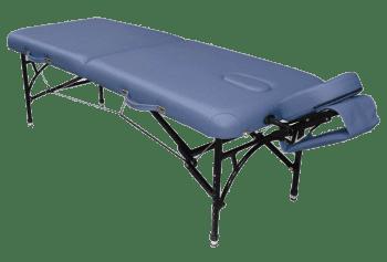 Складной массажный стол Vision Apollo II New синий - Массажные столы, артикул:7347
