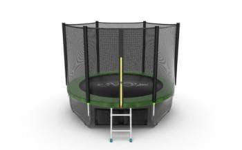 Батут Evo Jump External 8ft (Green) + Lower net - , артикул:10765