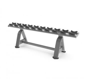 Одноярусная стойка для гантелей AeroFit Professional Inotec Free Weight Line Е49 - Стойки для хранения, артикул:10452