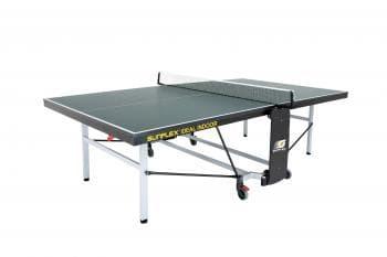 Теннисный стол тренировочный Sunflex Ideal Indoor зеленый - Теннисные столы для помещений, артикул:6148