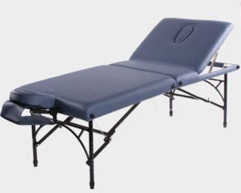 Складной массажный стол Vision Apollo Deluxe синий - Массажные столы, артикул:7351