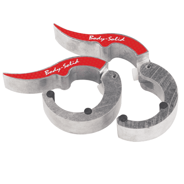 Замки алюминиевые ROEPKE (пара) - Замки для грифов, артикул:5253