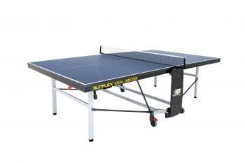 Теннисный стол тренировочный Sunflex Ideal Indoor синий - Теннисные столы для помещений, артикул:6147
