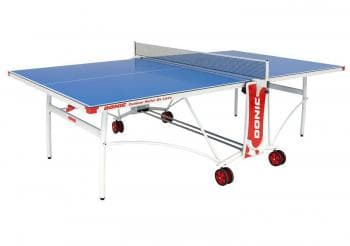 Теннисный стол Donic Outdoor Roller De Luxe синий - Теннисные столы всепогодные, артикул:6315