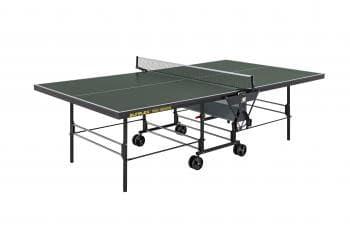 Теннисный стол Sunflex True Indoor зеленый - Теннисные столы для помещений, артикул:6137