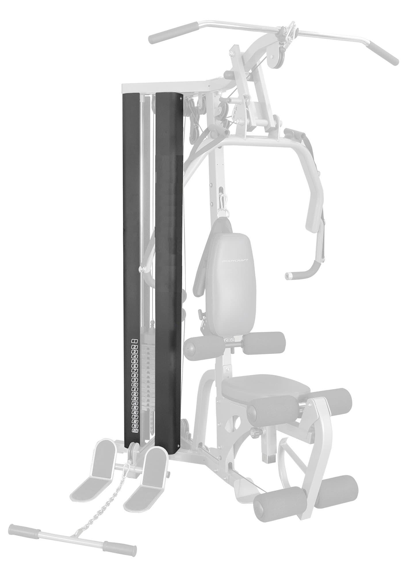 Зачехление стека для силового комплекса Body Craft GL - Мультистанции, артикул:3962