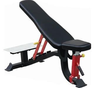 Усиленная многопозиционная скамья Aerofit Professional Impulse Sterling SL7012 - Универсальные скамьи, артикул:10273