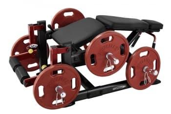 Сгибание ног лежа AeroFit Professional PLLC - Со свободными весами, артикул:10331
