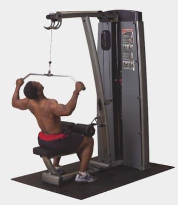 Вертикально-горизонтальная тяга Body-Solid Pro-Dual DLAT-SF - Со встроенными весами, артикул:9513