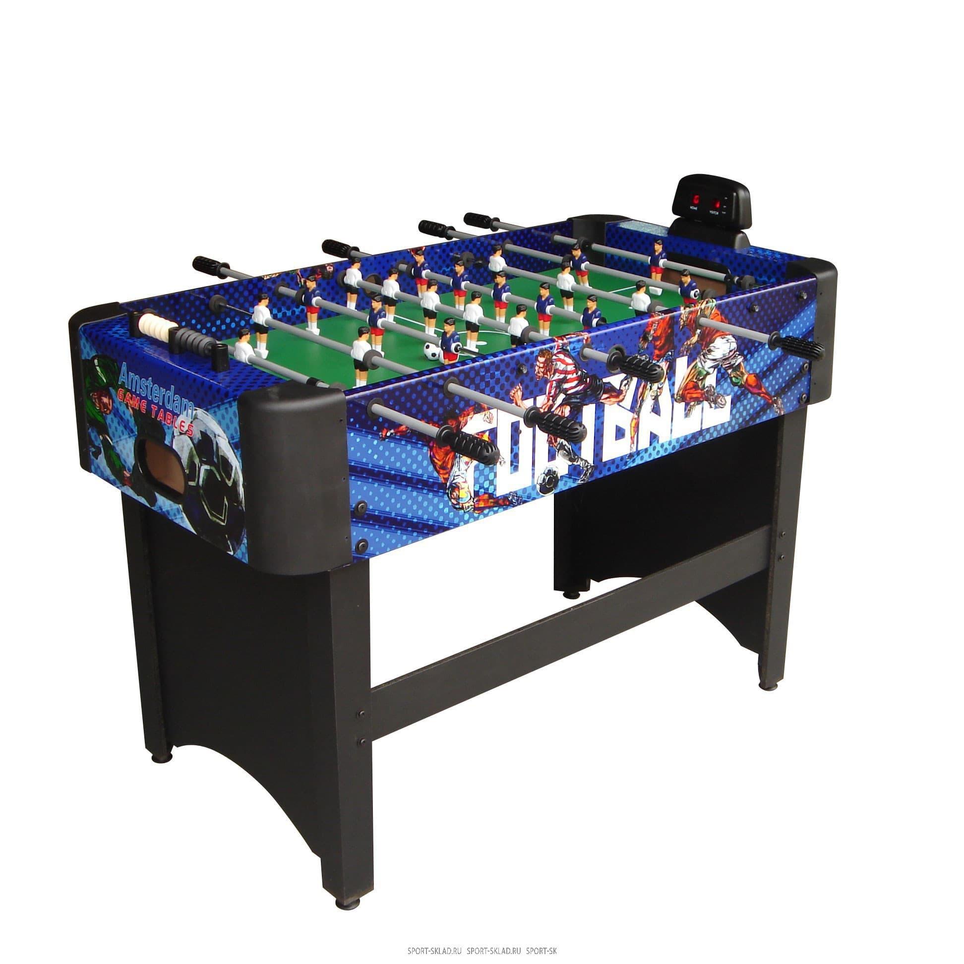 Игровой стол Amsterdam Pro футбол DFC - Настольный футбол, артикул:3805