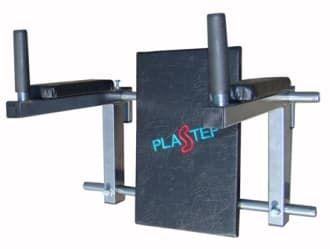 Навес для пресса регулируемый по ширине цвет черный, ручки ПВХ - Навесное оборудование, артикул:8022