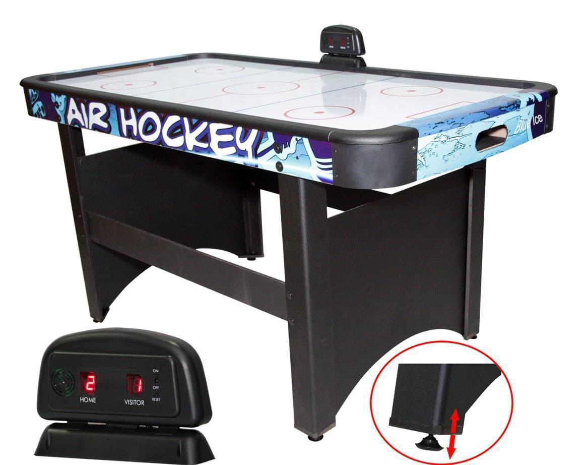 Игровой стол аэрохоккей DFC Blue Ice Pro - Аэрохоккей, артикул:3806