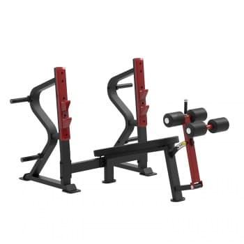 Олимпийская скамья с отрицательным наклоном для жима Aerofit Professional Impulse Sterling SL7030 - Для жима штанги, артикул:10282