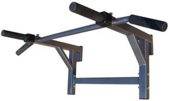 Турник-брусья PRO с параллельным и широким хватом цвет черный, ручки ПВХ - Навесное оборудование, артикул:8040