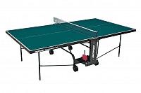 Теннисный стол Donic Indoor Roller 600 зеленый - Теннисные столы для помещений, артикул:6264