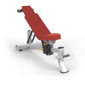 Многопозиционная скамья AeroFit Professional Impulse Techno ES7011 - Универсальные скамьи, артикул:10302