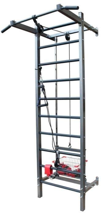 Тренажер PRO-T на свободных весах с корзиной (аналог Бубновского) - Кроссоверы, артикул:3355