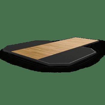 Платформа из спрессованной резины с деревянной вставкой Matrix Magnum MG-MR690P - Силовые рамы и стойки, артикул:9217