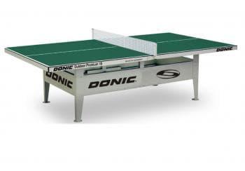 Теннисный стол Donic Outdoor Premium зеленый - Теннисные столы всепогодные, артикул:6320