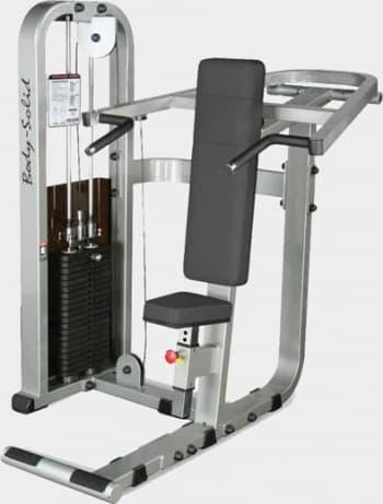 Жим от плеч Body Solid ProClub SSP-800 - Со встроенными весами, артикул:9497