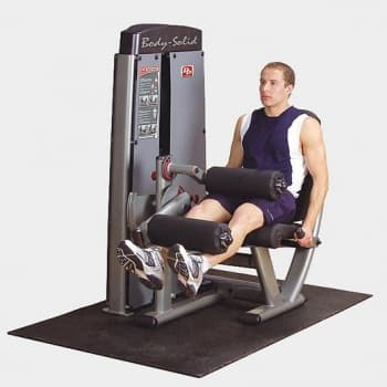 Сгибание-разгибание ног Body-Solid Pro-Dual DLEC-SF - Со встроенными весами, артикул:9514