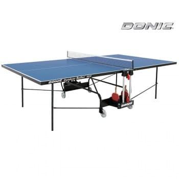 Теннисный стол всепогодный Donic Outdoor Roller 400 синий - Теннисные столы всепогодные, артикул:8264